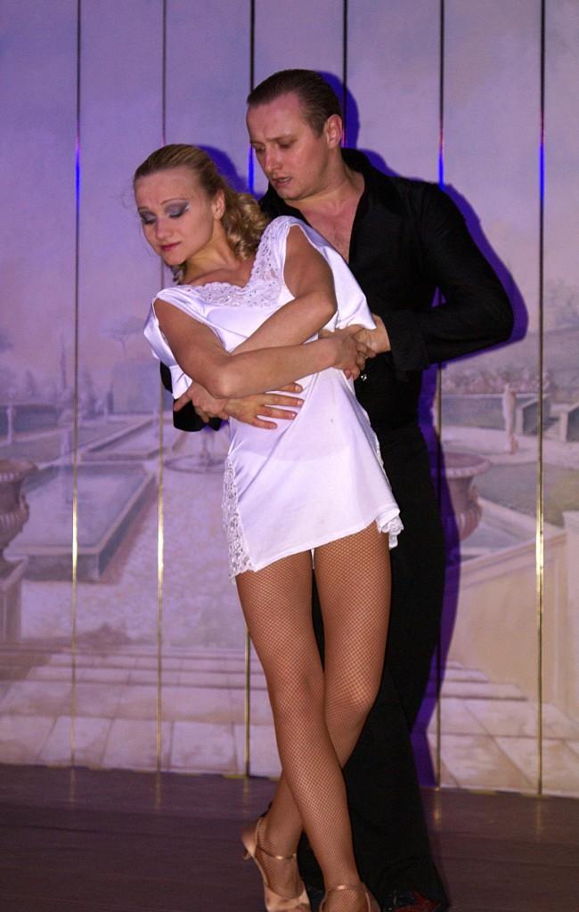 Vorführung mit Tanz