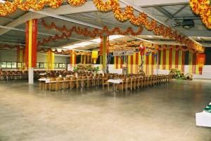 Festsaal mit Tische
