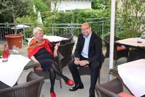 Mario G. Krebs und Frau Rodermond